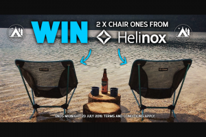 FB Wild Earth We're giving away 2x epic Helinox chairs Enter the competition now 👇 – 2x Epic Helinox Chairs