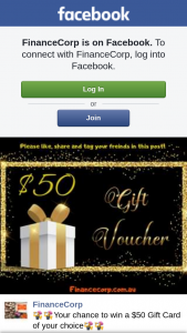 FinanceCorp – Win a $50 Gift Card of Your Choice