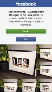 First Moments Custom Print Designs – Will Receive One Personalised A4 Name Print In Any Word