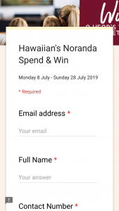 Hawaiin's Noranda – Win a Winter Hamper Valued at $300 Including a Year's Worth of Premium Netflix (prize valued at $300)