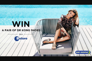 Hit 92.9 – Win a Pair of Dr Kong From Bstore (prize valued at $150)