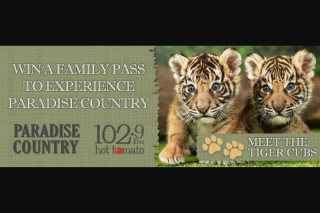 1029 Hot Tomato's – Win a Family Pass By Calling 5571 1029 (prize valued at $17)