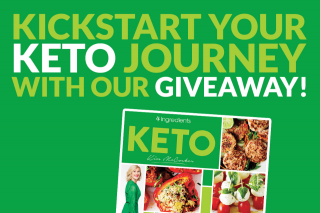 4 ingredients – Win One of Four Prizes In Our Keto Giveaway (prize valued at $225)