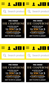 JB HiFi Pre-order The Chaperone for a chance to – Win 1 of 5 Signed Posters and a Copy of The Book (prize valued at $600)