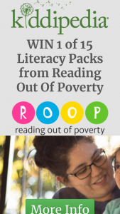Kiddipedia – Win 1 of 15 Literacy Packs From Reading Out of Poverty