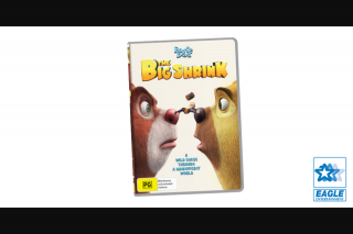 Kzone – Win a Copy of Boonie Bears The Big Shrink DVD (prize valued at $499)