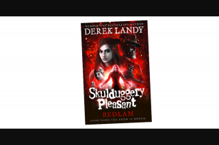 Kzone – Win a Copy of Skulduggery Pleasant (prize valued at $499)