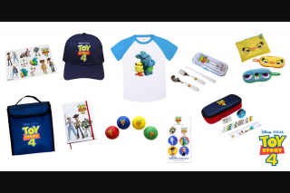 Kzone – Win a Toy Story 4 Movie Merch Pack (prize valued at $1,495)