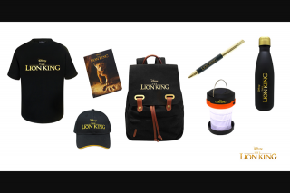 Kzone – Win The Lion King Movie Merch Pack (prize valued at $1,396)