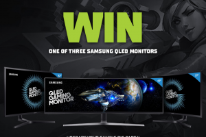 Legacy Esports – Win One of Three Samsung Qled Monitors (prize valued at $3,999)