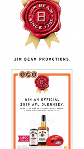 Liquorland-Jim Beam – Samsung Entertainment Package (prize valued at $20,000)
