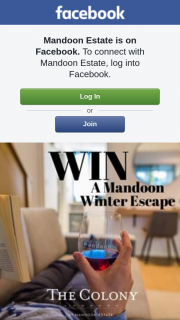 Mandoon Estate – Win The Ultimate Winter Warmer (prize valued at $235)