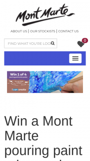 Mont Marte – and What You'll Create (prize valued at $219.8)
