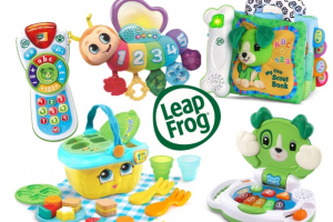 Mouths of Mums – Four Leapfrog Packs (prize valued at $130)