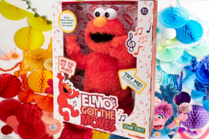 Mouths of Mums – The Coolest Sesame Street Toy In Town – 9 X Elmo's Got The Moves Toys Valued at $59.00 Each (prize valued at $59)