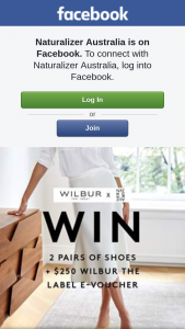 Naturalizer Australia – Win 2 Pairs of Naturalizer Shoes & One $250 E-Voucher From Wilbur The Label this Weekend