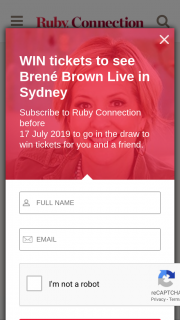 Notified on 18.7.19 and Their Name Published at Rubyconnection on 23.7.19. (prize valued at $790)