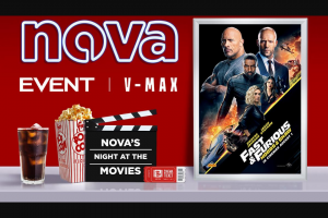 Nova 93.7 – Win a Preview Pass to Nova's Night at The Movies to See Fast & Furious
