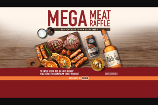 """$30 on eligible products Enter to – Win a Meat Raffle Promotion"""" (prize valued at $1)"""