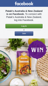Patak's Australia & New Zealand – Win Two Patak's Flavour Prize Packs (prize valued at $100)