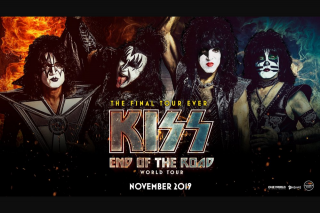 Plusrewards Herald-Sun – Win a Gold Double Pass to Say Goodbye to Kiss on Their End of The Road World Tour