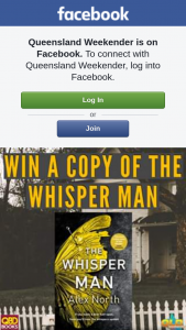 Qld Weekender – Win a Copy of The Whisper Man By Alex North