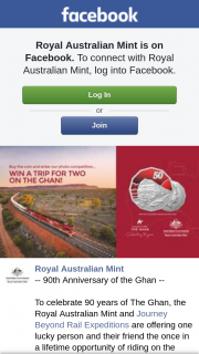 Royal Australian Mint – Win One (1) of Four (4) (prize valued at $5,258)