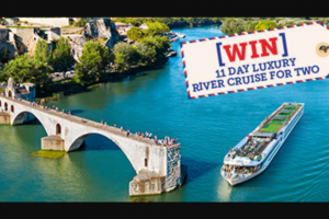 SBS – Win a Luxury 11-day South of France River Cruise for Two People [closes 2pm] (prize valued at $25,280)