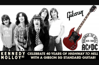 SCA Triple M – Win a Gibson Sg Special Guitar (prize valued at $1,800)