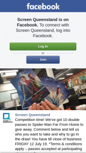 Screen Queensland – Win a Trip To