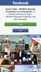 Simon Salm Re-Max Bayside Properties – Win a $60 Gift Voucher to Whisky Business With Compliments of Simon Salm (prize valued at $60)
