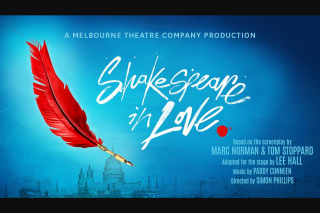 Smooth fm – Win Two Tickets to See Shakespeare In Love