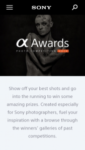 Sony Australia – Showcase your best Alpha photography & – Win One (1) Prize Each (prize valued at $25,000)