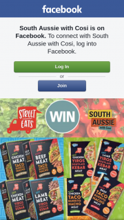 South Aussie With Cosi – Win $100 to Spend at Specialty Foods??