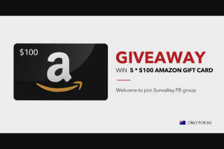 TaoTronics – Win Five $100 Amazon Gift Cards (prize valued at $50)
