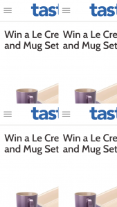 taste – Win It Survey Online at Wwwtastecomau/win and Answering The Question (prize valued at $104)