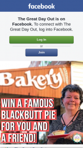 The Great Day Out – Win a Blackbutt Bakery Pie for You and a Friend