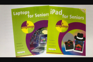 The Senior – Win Easy Steps Books for Ipad and Laptops for Seniors