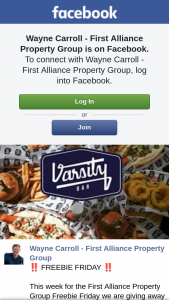 Wayne Carroll First Alliance Property Group – Win this Prize