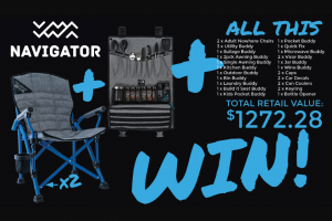 Whats Up Down Under – Win a Navigator Prize Package (prize valued at $1,272)