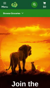Woolworths Lion King collectables – Win One of 116 Incredible Holidays for Four to Walt Disney World Resort In Orlando (prize valued at $1)