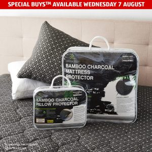 Aldi Australia – Win an activated bamboo charcoal infused mattress and pillow protector