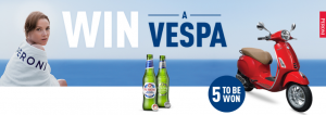 Asahi Premium Beverages – Win 1 of 5 prize packs of a Vespa PLUS a $250 gift card