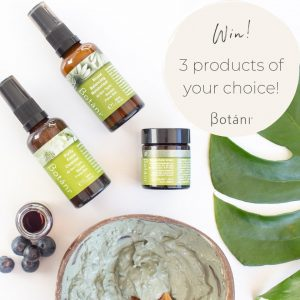 Botani Skincare Australia – Win 3 products of your choice
