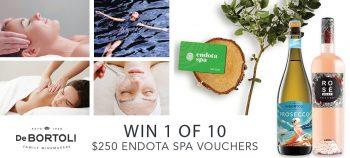 Bottlemart – Win 1 of 10 Endota Spa vouchers valued at $250 each