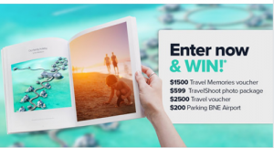Brisbane Airport – Travel Memories – Win a travel prize package valued at $4,800