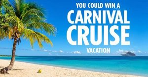 Carnival Cruise Line – Win an 9-day cruise for 4 people to New Caledonia