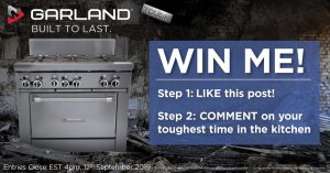 Comcater – Win a new Garland burner valued at up to over $8,000