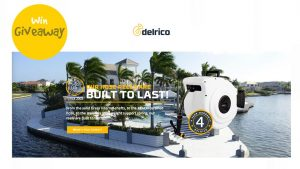 Delrico Hose Reels – Win 2 custom coloured hose reels