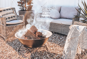 Flower Power – Win a Fire Pit